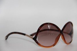NEW TOM FORD TF 372 52F IVANNA BROWN GRADIENT AUTHENTIC SUNGLASSES 64-8 ... - $208.05