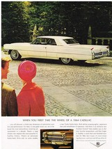 Vintage 1964 Magazine Ad Cadillac Discover a Whole New Dimension of Performance - $5.93