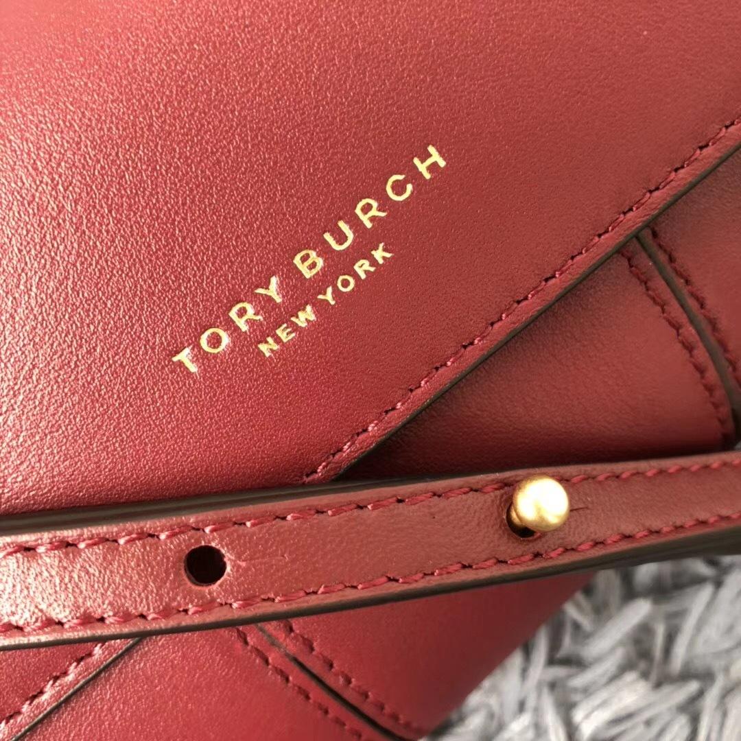 Tory Burch Block-T Phone Leather Crossbody Bag image 3