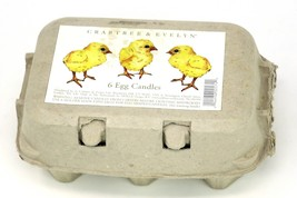 Crabtree & Evelyn 5 Egg Candles in Carton Scented Easter Very Rare! (Mis... - $29.95