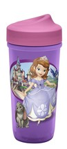 Zak Designs Toddlerific Perfect Flo Toddler Cup with Sofia The First, No... - $8.90