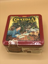 Vintage Crayola Christmas 64 Crayon Holiday Tin Sealed 1992 Collectible - $17.33