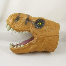 Jurassic World Tyrannosaurus Rex Hand Puppet Chomping Foam Hasbro 2014 T... - $21.99