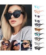 Women UV400 Luxury Oversized Cat Eye Sunglasses Fashion Vintage Style Ey... - $5.76