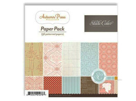 Studio Calico 6x6 Inch Autumn Press Paper Pad #PP003
