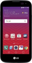 Virgin Mobile - LG K3 with 8GB Memory Prepaid Cell Phone - Black - $42.06