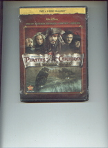 2 Disney action DVDs NATIONAL TREASURE + PIRATES OF THE CARIBBEAN At Wor... - $9.00