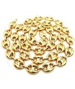 10k Oro Amarillo Puff Gucci Cadena de Eslabones 76.2cm 9mm Ancho 37.4 Gr... - $1,368.14