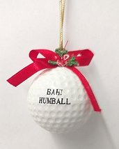 Golf Ball Ornament (H) - $15.00