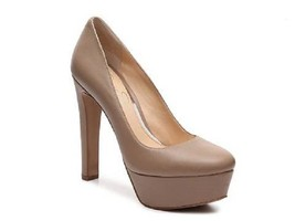 new jessica simpson ansley platform pumps / heels size 6.5 medium mocha ... - $42.00
