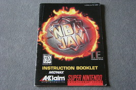 Super Nintendo SNES: NBA Jam T.E. [Instruction Book Manual ONLY] - $6.00
