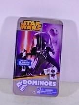Disney Star Wars Darth Vader Dominoes in a Tin Box - $9.67