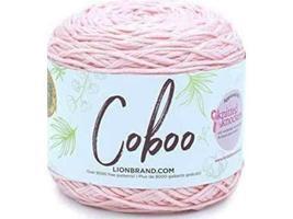 Lion Brand-Coboo Yarn-Pale Pink-51% cotton & 49% Rayon