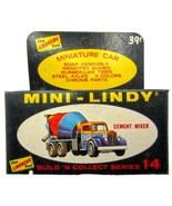 1968 Mini-Lindy Lindberg Cement Mixer Model Kit - $26.95