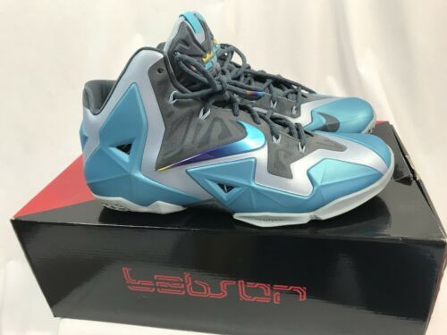 best service 4dd6c aa5d9 Nike Lebron Xi South Beach Chaussures de and 50 similar items. 12