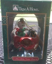 Vintage Trim a Home Mouse Typing on Telephone Tree Charm Ornament KMart NIP - $24.74