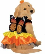 Rubies Beautiful Monarch Butterfly Pet Dog Animal Halloween Costume 887834 - $26.52 CAD+