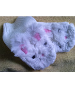 Fits 12-24 Months Gymboree Fuzzy Bunny Mittens/NIP - $15.94 CAD