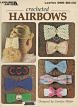 """Leisure Arts """"Crocheted Hairbows"""" 9 Designs - Thread - Gently Used - $3.00"""