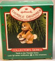 Hallmark: Thimble Drummer - Series 10th - 1986 Classic - Keepsake Ornament - $10.09