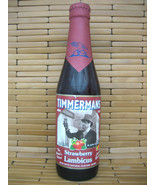 TIMMERMANS TRADITION BELGIUM STRAWBERRY RED LAMBIC BEER BOTTLE EMPTY - $5.93