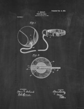 Practice-ball Patent Print - Chalkboard - $7.95+