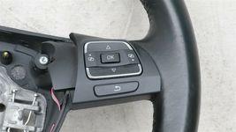 09 - 17 Volkswagen CC Eos Golf 3-Spoke Multifunction Steering Wheel Blck Leather image 7