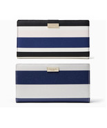 Kate Spade shore street stacy Wallet Cruise Stripe  or Navy stripe  NWT ... - $59.00