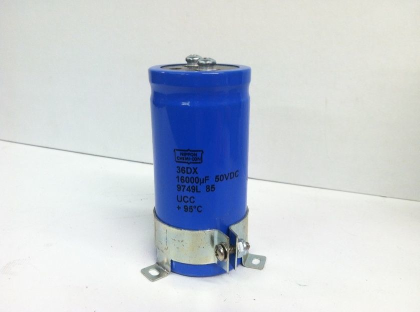 CDE Sangamo 117-0861 15500 uf 50 VDC