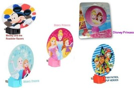 Disney Princess, Frozen, Paw Patrol, Mickey Mouse LED Night Light New in Package - $2.99