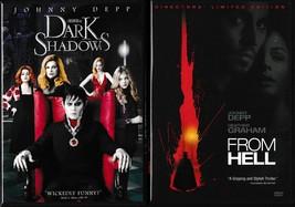 Dark Shadows (2012)/Alice in Wonderland (2010)/From Hell (2002) Widescre... - $9.99