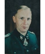Sylvester Stadler signed color photo (on the reverse). Das Reich. Panzer. - $76.00