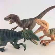 Jurassic World Velociraptor Charlie Raptor Dinosaur Figure Lot of 3 - $19.79