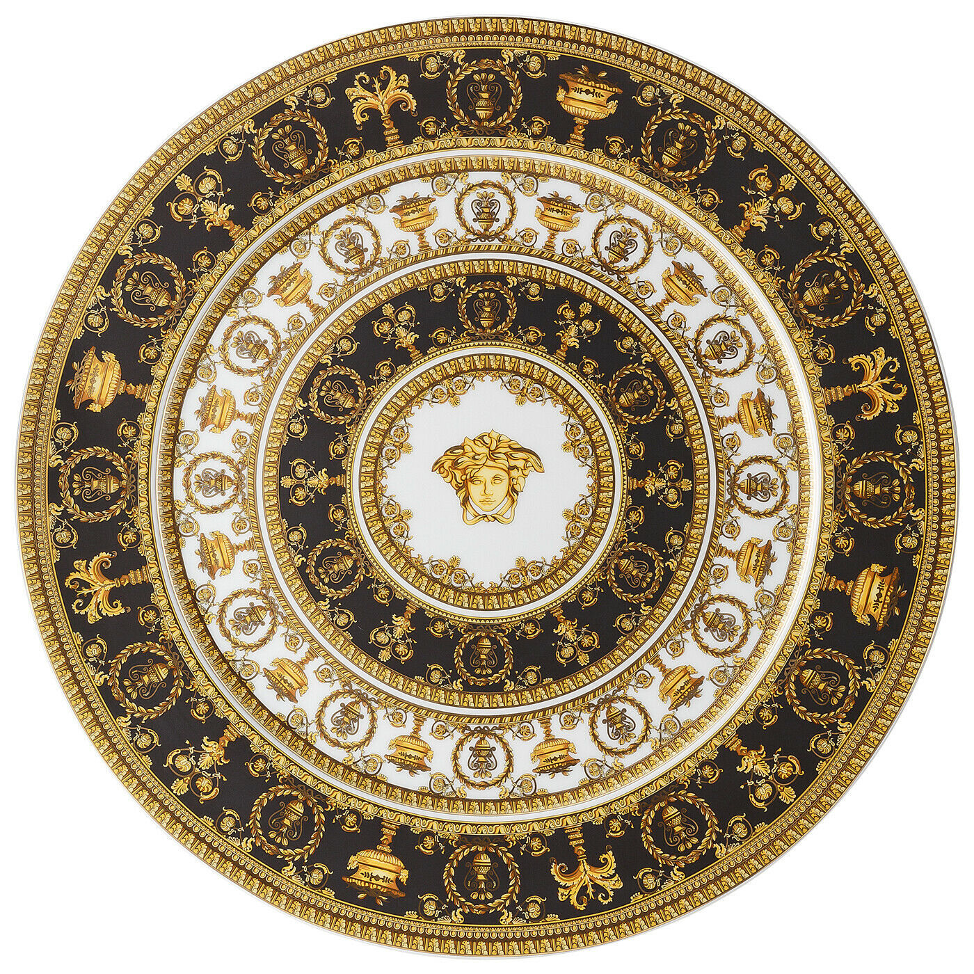 Versace I Love Baroque Service Plate 33 cm Porcelain Made in Italy - $261.45