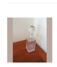 decorative glass bottle with topper - $99.99