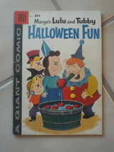 Vintage 1950's Marge's Lulu and Tubby Halloween Fun #2 Giant Dell Comic Book   - $25.00