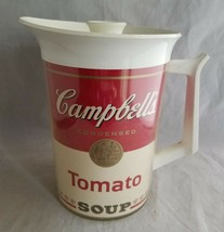 Campbell's Soup Vintage Tomato Soup Pitcher West Bend Thermo-Serv Thermo... - $16.65