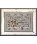 Forest Snowfall christmas winter cross stitch chart Country Cottage Need... - $7.20