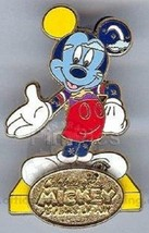 Disney Clouded Conscience Mickey Celebrate Mickey 75 InspEARations by Raven pin - $14.69