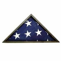 BarnwoodUSA Triangle Flag Display Case Decoration, Home Memorabilia or M... - $69.17
