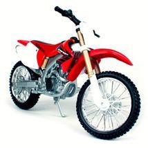 Honda Crf 450r 1:12 Motorcycle Red Mini Model Metal Diecast Motocross Di... - $23.75