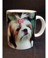 SHIH TZU COFFEE MUG Tribute & History of the Dog by XPRES 1994 - $8.90