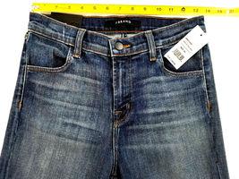 new J BRAND women jeans Jasper Patched JB001098 high rise crop 26 blue MSRP $298 image 3