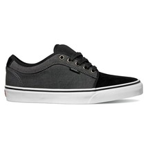VANS Chukka Low (Two-Tone Oxford) Black Tornado UltraCush MEN'S 6.5 WOMEN'S 8 - $44.95