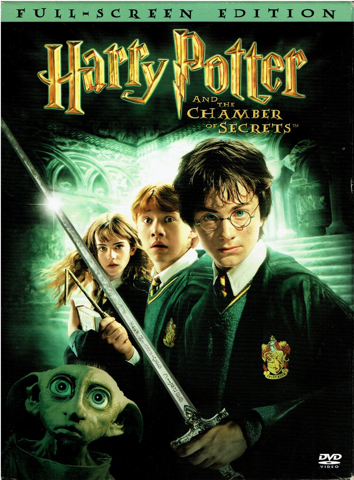 Harry Potter and the Chamber of Secrets, DVD, 2003, Full-Screen Edition