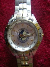 * Rare Fossil Atlantic Coast Conference Men's Stainless Steel Watch  see... - $89.99