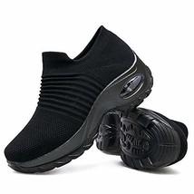 Women's Walking Shoes Sock Sneakers - Mesh Slip On Air Cushion Lady Girl... - $31.90