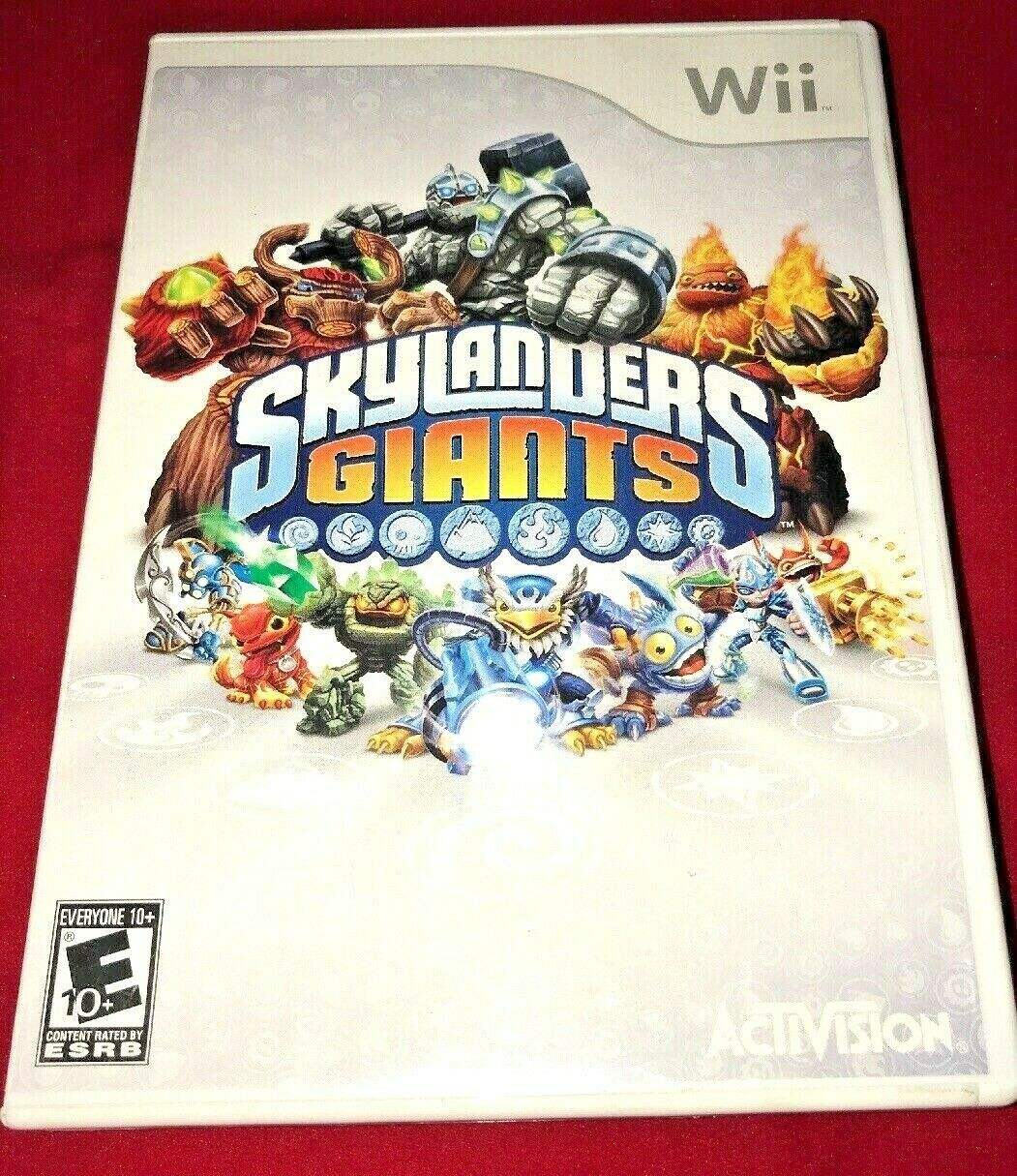 Skylanders GIANTS Nintendo Wii 2012 Game Complete W/ Disc and Portal Of Power image 4