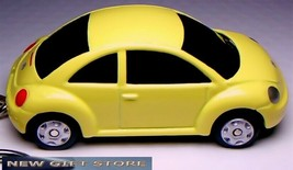 Rare!! Key Chain Yellow Vw New Beetle Volkswagen Bug Volkswagon Limited Edition - $38.98