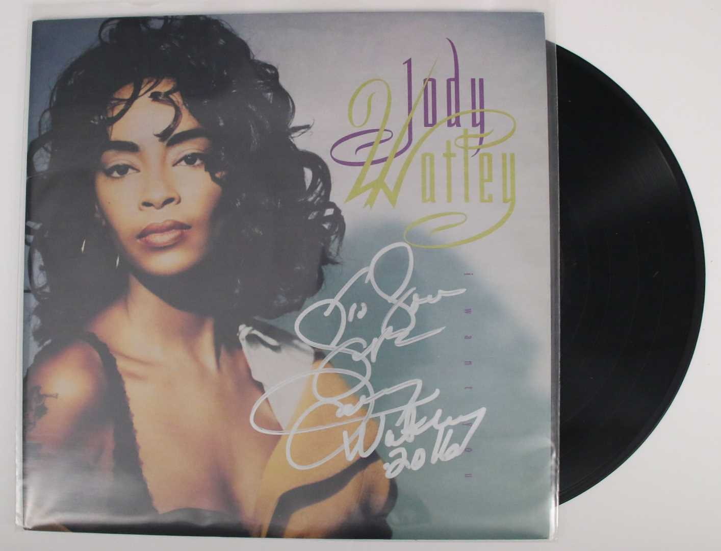 "Primary image for Jody Whatley Signed Autographed ""I Want You"" Record Album"